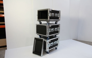 Assorted Heavy Duty Rack Mount Cases