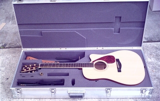 Acoustic Guitar Durable Extrusion Case