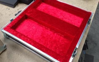 TransitPak Chessboard Case Interior Bottom in Red