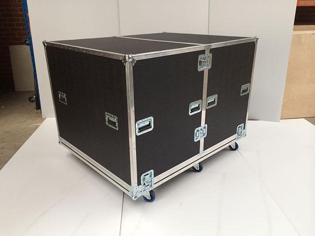 Heavy duty cabinet case