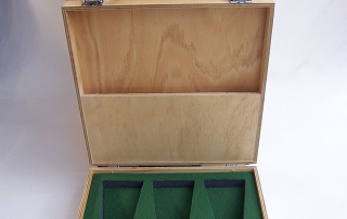 TransitPak - Lacquered Wooden Case with Foam Insert