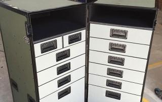 TransitPak - Stacked drawer heavy duty case