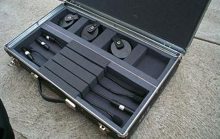 Lightweight casing for goose neck microphones