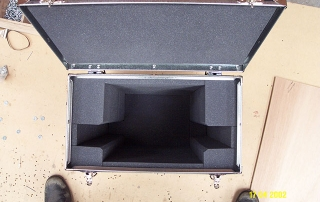Light weight case protection for single LCD monitor