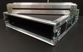 Rack mount light weight flight panel case