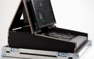 DJ Heavy Duty Lighting Mixer and Monitor Case