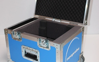 Lightweight Flight Panel Case for Medical Equipment and Accessories