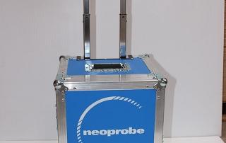 Lightweight Flight Panel Rolling Case For Medical Monitors