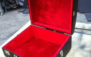 TransitPak - Piano Accordion Case in Red Interior