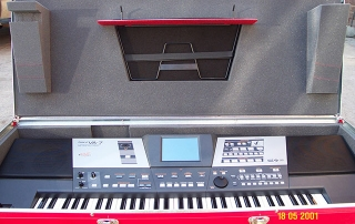 Customized Lightweight Keyboard Case for Roland VA 7