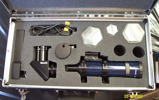 Lightweight case for telescopes