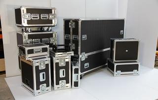 Assortment of Flight Cases