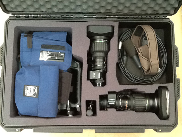 Lightweight Molded Case for Video Equipment and Accessories