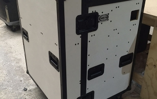 Closed External View of Heavy Duty Workstation Case
